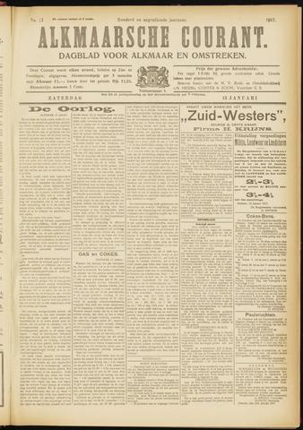 Alkmaarsche Courant 1917-01-13
