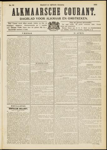 Alkmaarsche Courant 1913-04-18