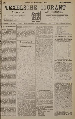 Texelsche Courant 1915-02-21