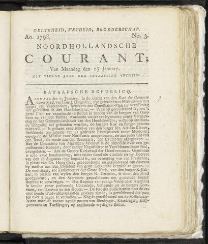 Noordhollandsche Courant 1798-01-15