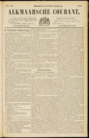 Alkmaarsche Courant 1902-02-26