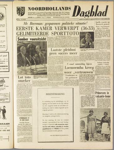 Noordhollands Dagblad : dagblad voor Alkmaar en omgeving 1960-09-14
