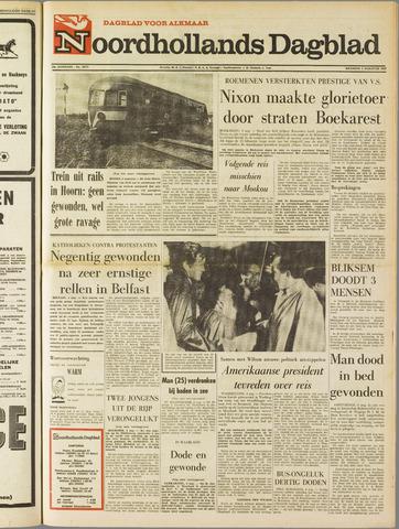 Noordhollands Dagblad : dagblad voor Alkmaar en omgeving 1969-08-04
