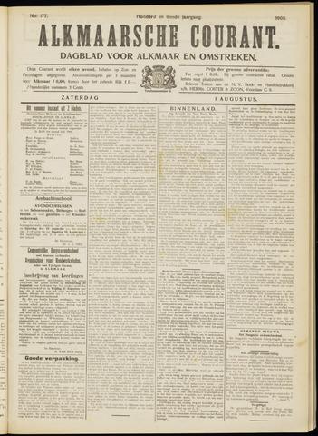 Alkmaarsche Courant 1908-08-01
