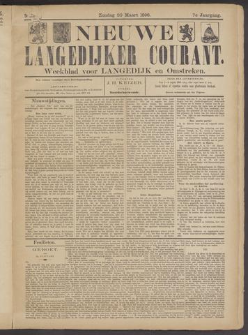 Nieuwe Langedijker Courant 1898-03-20