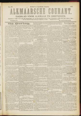 Alkmaarsche Courant 1917-09-28