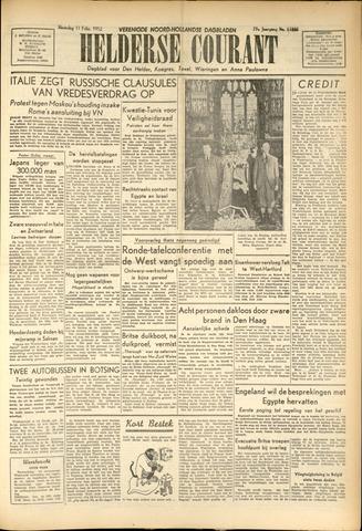 Heldersche Courant 1952-02-12