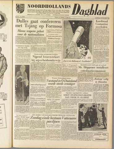 Noordhollands Dagblad : dagblad voor Alkmaar en omgeving 1958-10-18