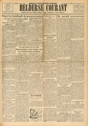Heldersche Courant 1949-04-16