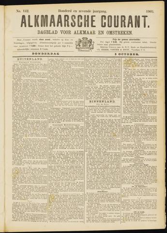 Alkmaarsche Courant 1905-10-05