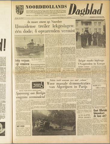Noordhollands Dagblad : dagblad voor Alkmaar en omgeving 1961-10-19