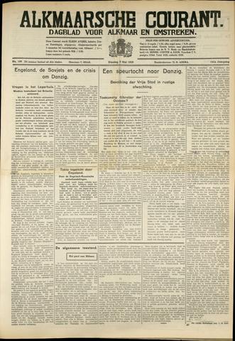 Alkmaarsche Courant 1939-05-09