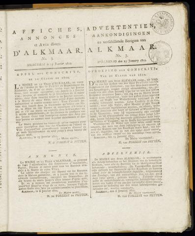 Alkmaarsche Courant 1812-01-15