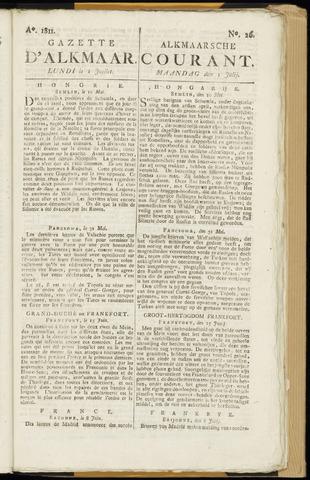 Alkmaarsche Courant 1811-07-01