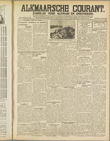 Alkmaarsche Courant 1941-10-15