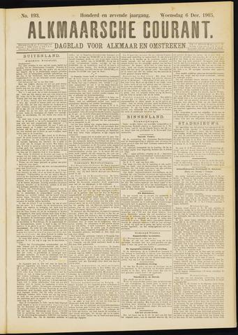Alkmaarsche Courant 1905-12-06