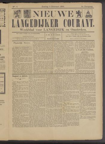 Nieuwe Langedijker Courant 1896-02-09