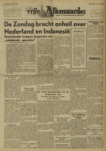 De Vrije Alkmaarder 1947-07-21