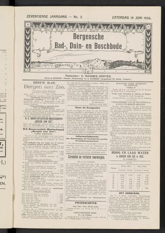 Bergensche bad-, duin- en boschbode 1926-06-19