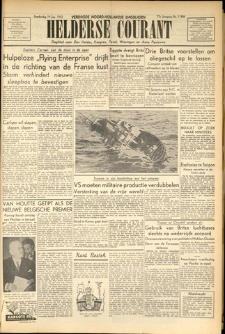 Heldersche Courant 1952-01-10