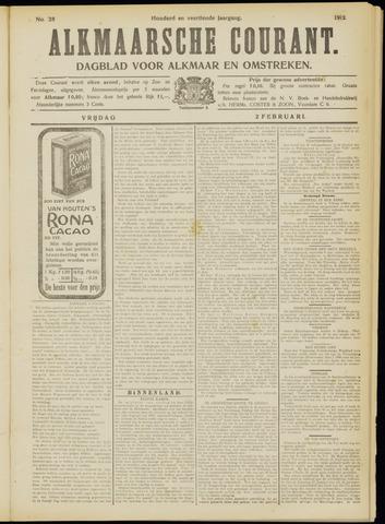 Alkmaarsche Courant 1912-02-02