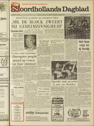 Noordhollands Dagblad : dagblad voor Alkmaar en omgeving 1968-12-04