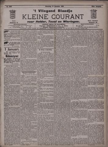 Vliegend blaadje : nieuws- en advertentiebode voor Den Helder 1900-12-19