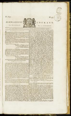 Alkmaarsche Courant 1837-11-20