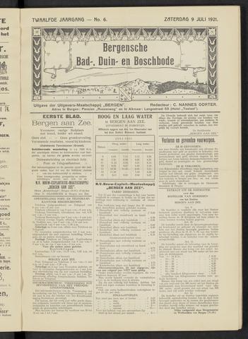 Bergensche bad-, duin- en boschbode 1921-07-09