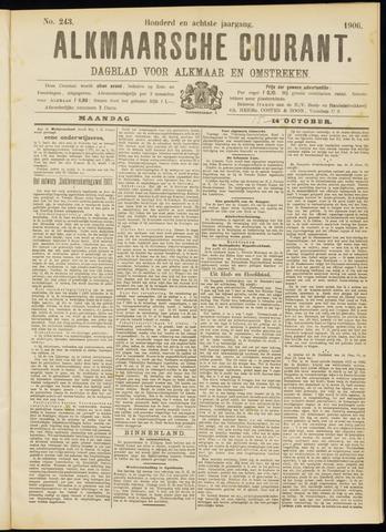 Alkmaarsche Courant 1906-10-15