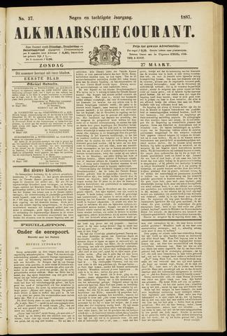 Alkmaarsche Courant 1887-03-27