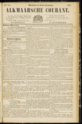Alkmaarsche Courant 1901-11-27