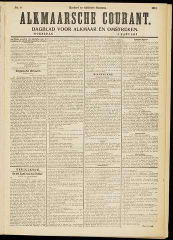 Alkmaarsche Courant 1913-01-08