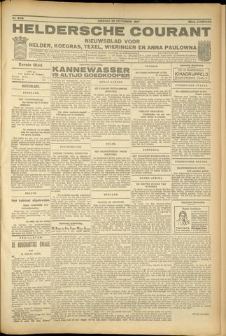 Heldersche Courant 1927-11-22