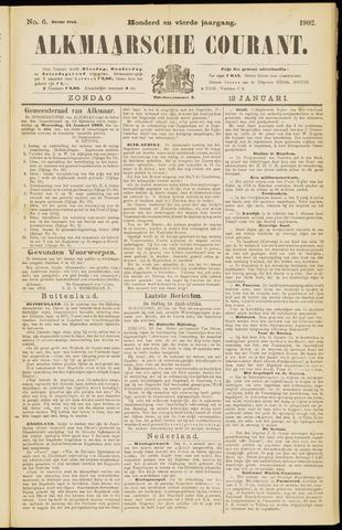 Alkmaarsche Courant 1902-01-12