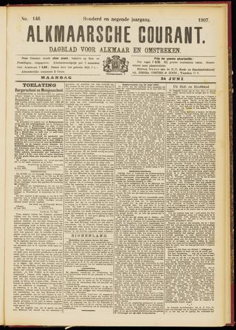 Alkmaarsche Courant 1907-06-24