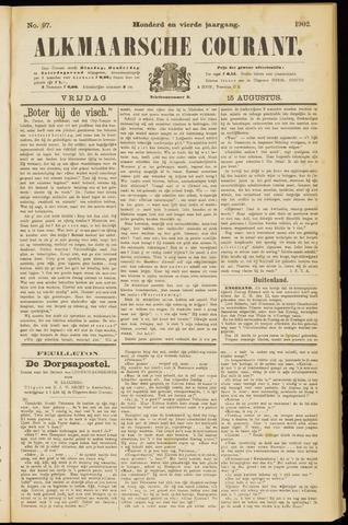 Alkmaarsche Courant 1902-08-15