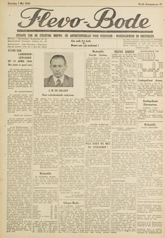 Flevo-bode: nieuwsblad voor Wieringen-Wieringermeer 1948-05-01