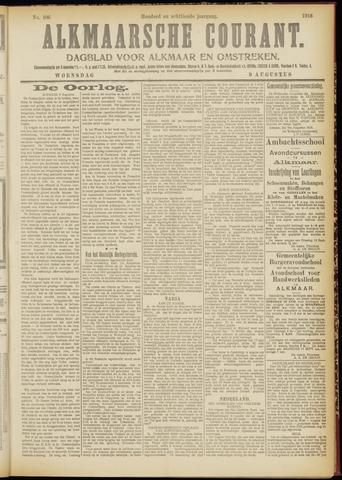 Alkmaarsche Courant 1916-08-09