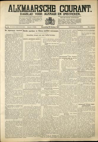 Alkmaarsche Courant 1937-10-20