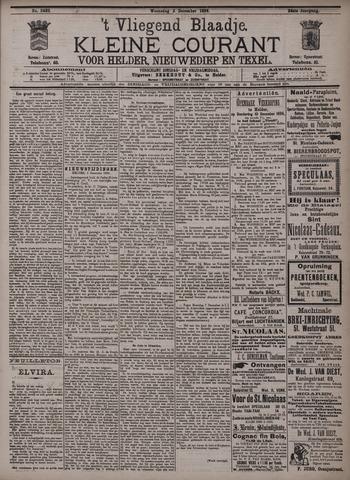Vliegend blaadje : nieuws- en advertentiebode voor Den Helder 1896-12-02