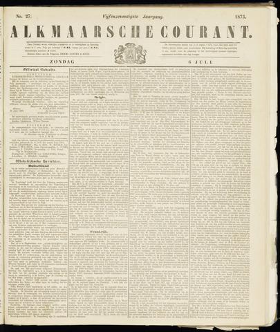 Alkmaarsche Courant 1873-07-06