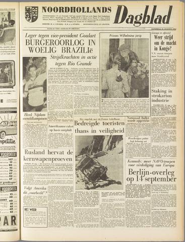 Noordhollands Dagblad : dagblad voor Alkmaar en omgeving 1961-08-31