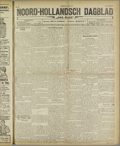 Ons Blad : katholiek nieuwsblad voor N-H 1921-07-18