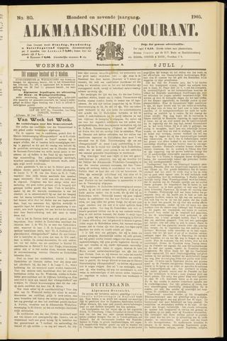 Alkmaarsche Courant 1905-07-05