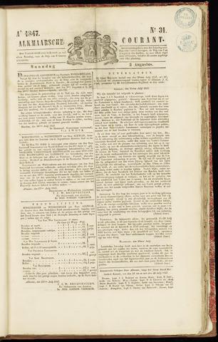 Alkmaarsche Courant 1847-08-02