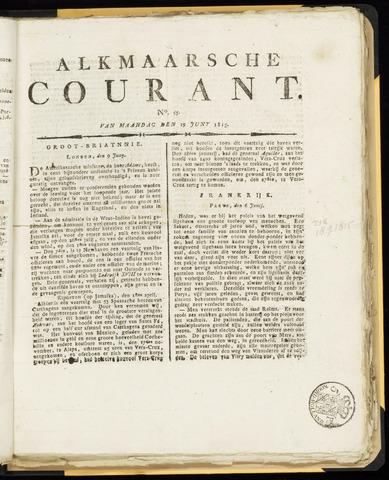Alkmaarsche Courant 1815-06-19