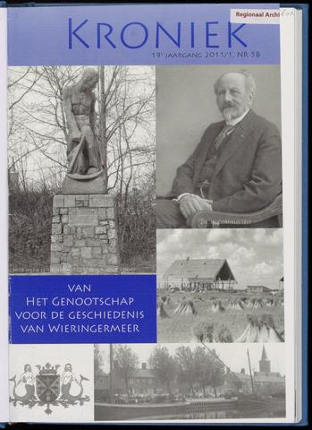 Kroniek Historisch Genootschap Wieringermeer 2011-04-01