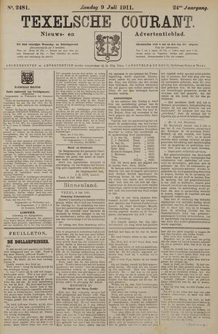Texelsche Courant 1911-07-09