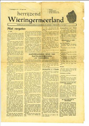 Herrijzend Wieringermeerland 1947-04-19